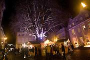 Christmas market, Abbey Green, Bath, England