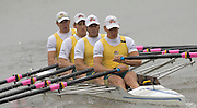 2005 Under 23's, Bosbaan Rowing Course, Amsterdam, NETHERLANDS. AUS BM4X Bow Antony Males, Andrew Wilson, Sam Renton and David Kelly.  21.07.2005 .© Peter Spurrier. .email images@intersport-images..[Mandatory Credit Peter Spurrier/ Intersport Images]