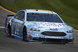 June 1, 2018 - Long Pond, Pennsylvania, United States of America - Clint Bowyer (14) brings his car through the turns during practice for the Pocono 400 at Pocono Raceway in Long Pond, Pennsylvania. (Credit Image: © Chris Owens Asp Inc/ASP via ZUMA Wire)