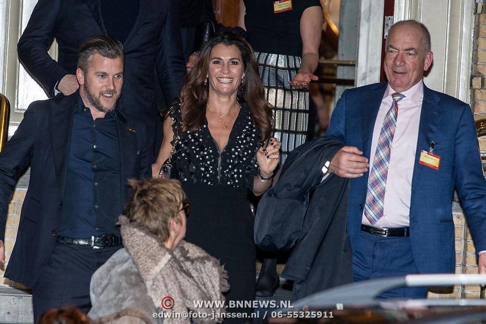 NLD/Amsterdam/20180215 - Goed Geld Gala 2018, Winston Gerschtanowitz en Quinty Trustfull