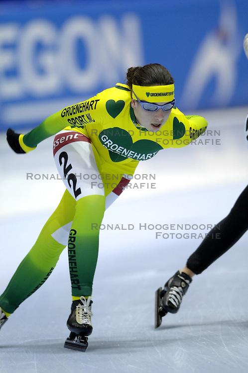 09-12-2006 MARATHONSCHAATSEN: 10E ESSENT CUP DAMES: HEERENVEEN <br /> Ilse Verkade<br /> ©2006-WWW.FOTOHOOGENDOORN.NL