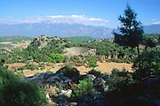 Amphitheatre, Lycian city of Pinara, Turkey