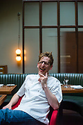 Neil Borthwick, chef at The Merchant's Tavern in Shoreditch, London