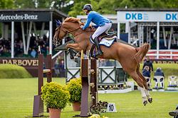 Ahlmann Christian, GER, Mandato van de Neerheide<br /> Deutsches Spring- und Dressur Derby 2019<br /> © Hippo Foto - Dirk Caremans<br /> 29/05/2019