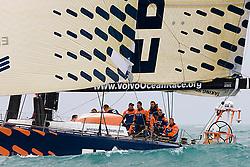© Sander van der Borch.Alicante, 11 October 2008. Start of the Volvo Ocean Race. Ericsson 4.