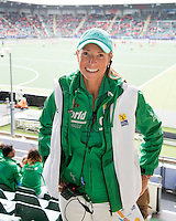 DEN HAAG -WORLD CUP Hockey 2014. Kleding vrijwilliger tijdens WK Hockey.  COPYRIGHT  KOEN SUYK