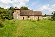 Village parish church Saint Mary the Blessed Virgin, Gedding, Suffolk, England, UK