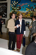 ANDREI HARMSWORTH AND HENRY CONWAY, 240th Royal Academy Summer Exhibition fundraising private view. Piccadilly. London.4 June 2008.  *** Local Caption *** -DO NOT ARCHIVE-© Copyright Photograph by Dafydd Jones. 248 Clapham Rd. London SW9 0PZ. Tel 0207 820 0771. www.dafjones.com.