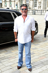 Simon Cowell attending the X Factor photocall held at Somerset House, London.