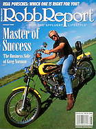 Magazine Cover - Robb Report Greg Norman