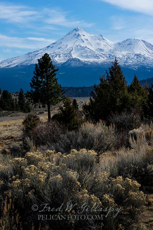 Mt. Shasta, California, California Cascades, Siskiyou County CA