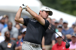 June 24, 2018 - Cromwell, Connecticut, United States - Brian Harman tees off the first hole during the final round of the Travelers Championship at TPC River Highlands. (Credit Image: © Debby Wong via ZUMA Wire)