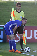 Corner kick for Israel during the UEFA European Under 17 Championship 2018 match between Israel and Italy at St George's Park National Football Centre, Burton-Upon-Trent, United Kingdom on 10 May 2018. Picture by Mick Haynes.