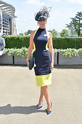 AMANDA WAKELEY at the first day of the 2014 Royal Ascot Racing Festival, Ascot Racecourse, Ascot, Berkshire on 17th June 2014.