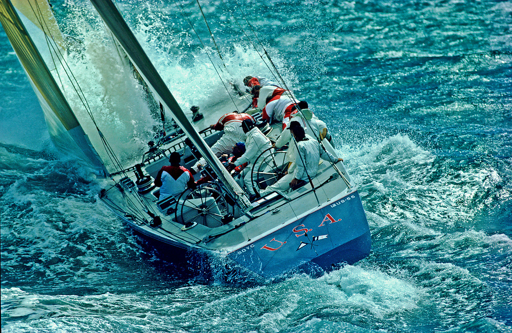 Dennis Conner:<br /> Stars & Stripes wins 1987 America's Cup<br /> February , 1987