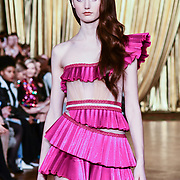 AADNEVIK's Autumn/Winter 2019 fashion show at The Royal Horseguards One Whitehall Place, London, UK. 17 Feb 2019.