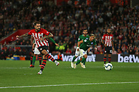 Football - 2018 / 2019 Premier League - Southampton vs. Brighton and Hove Albion<br /> <br /> Southampton's Danny Ings strokes in his penalty at St Mary's Stadium Southampton<br /> <br /> COLORSPORT/SHAUN BOGGUST