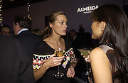 Caroline Michel and Ronni Ancona. The Almeida Theatre Charity Christmas Gala, to raise funds for the theatre, at the Victoria Miro Gallery, London.  1 December  2005. ONE TIME USE ONLY - DO NOT ARCHIVE  © Copyright Photograph by Dafydd Jones 66 Stockwell Park Rd. London SW9 0DA Tel 020 7733 0108 www.dafjones.com