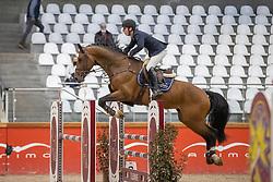Nuytens Gilles, BEL, Prestige van het Kluizebos<br /> Pavo Hengsten competitie - Oudsbergen 2021<br /> © Hippo Foto - Dirk Caremans<br />  22/02/2021