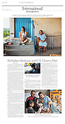 """""""Undocumented Migrants, Free Now to Visit Mexico, Face Iffy Future"""", The New York Times, Mexico, November 5, 2016. Photographs by Rodrigo Cruz."""