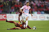 FOOTBALL - FRENCH CHAMPIONSHIP 2010/2011 - L2 - EVIAN TG v FC METZ - 27/05/2011 - PHOTO ERIC BRETAGNON / DPPI - CEDRIC BARBOSA (EVIA)