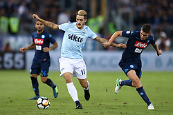 September 20, 2017 - Rome, Italy - Luis Alberto of Lazio and Jorginho of Napoli  during the Serie A match between SS Lazio and SSC Napoli at Stadio Olimpico on September 20, 2017 in Rome, Italy. (Credit Image: © Matteo Ciambelli/NurPhoto via ZUMA Press)