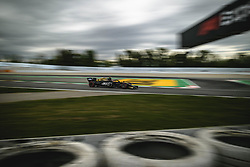 May 11, 2019 - Barcelona, Catalonia, Spain - KEVIN MAGNUSSEN (DEN) from team Haas drives in his VF-19 during the third practice session of the Spanish GP at Circuit de Catalunya (Credit Image: © Matthias Oesterle/ZUMA Wire)