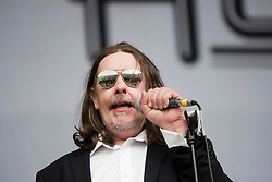 Alabama 3 perform on the main stage..Rockness, Saturday 12th June 2010..Pic ©2010 Michael Schofield. All Rights Reserved.
