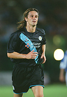 Lilian Nalis (Leicester). Brighton & Hove Albion v Leicester City. 4/8/2003. Pre Season friendly match. Credit : Colorsport/Andrew Cowie