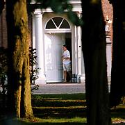 Verjaardag prins Claus Huis ten Bosch, prins Contantijn in zwembroek