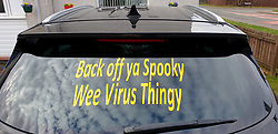 Covid-19 window signs, 05 April 2020<br />