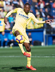 February 3, 2019 - Villarreal, Castellon, Spain - Karl Toko Ekambi of Villarreal during the La Liga match between Villarreal and Espanyol at Estadio de la Ceramica on February 3, 2019 in Vila-real, Spain. (Credit Image: © Maria Jose Segovia/NurPhoto via ZUMA Press)