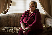 Mary Garcia poses for a portrait at her home in Arlington, Texas on December 22, 2016. (Cooper Neill for The Texas Tribune)