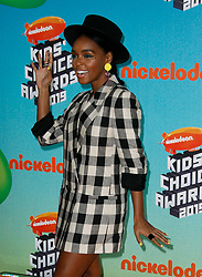 March 23, 2019 - Los Angeles, CA, USA - LOS ANGELES, CA - MARCH 23: Janelle Monae attends Nickelodeon's 2019 Kids' Choice Awards at Galen Center on March 23, 2019 in Los Angeles, California. Photo: CraSH for imageSPACE (Credit Image: © Imagespace via ZUMA Wire)
