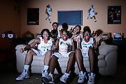 2008-09 Miami Hurricanes Women's Basketball Marketing Shoot