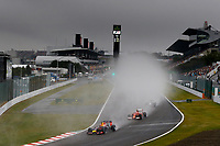VETTEL Sebastian (Ger) Red Bull Renault Rb10 action depart start   during the 2014 Formula One World Championship, Japan Grand Prix from October 3rd to 5th 2014 in Suzuka. Photo Frederic Le Floc'h / DPPI