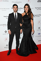 Mikel Arteta and Lorena Bernal attending the 9th Annual Global Gift Gala held at the Rosewood Hotel, London. Picture date: Friday November 2nd 2018. Photo credit should read: Matt Crossick/ EMPICS Entertainment.
