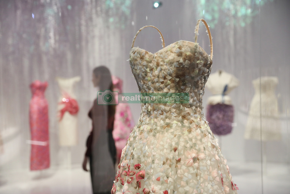 Christian Dior by Maria Grazia Chiuri (b. 1964), Haute Couture, Spring/Summer 2017 'Jardin Fleuri' dress during the preview into the 'Christian Dior: Designer of Dreams' at the Victoria and Albert Museum, London. Picture dated: Wednesday January 30, 2019. Photo credit should read: Isabel Infantes / EMPICS Entertainment.