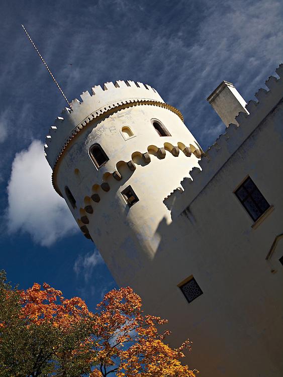 Orlik castle - Tower