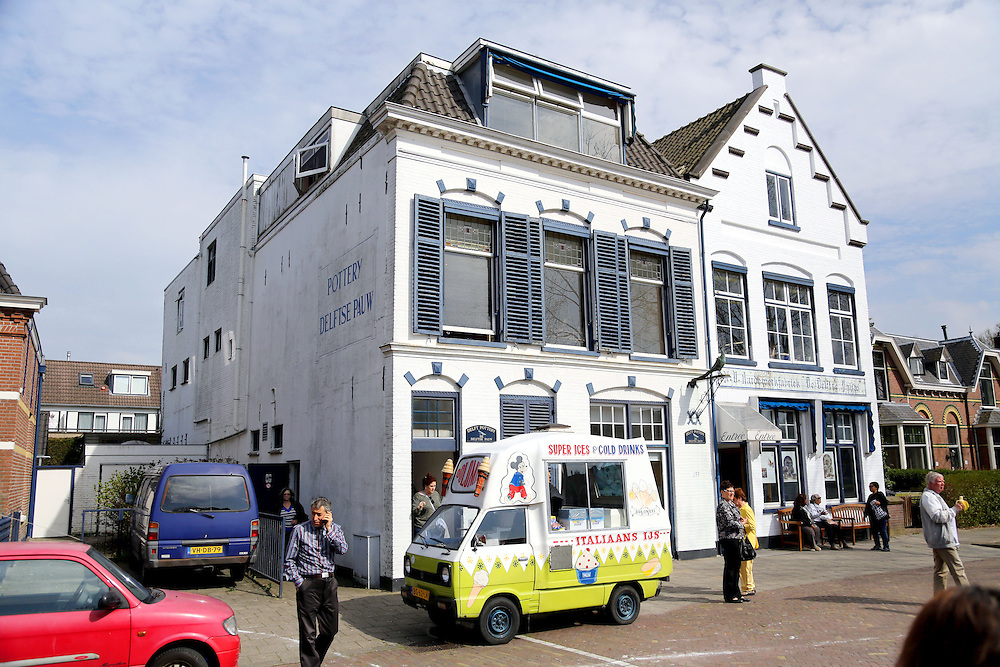 Delft is a city and municipality in the province of South Holland, in the Netherlands. Delft is located between the larger cities of Rotterdam and The Hague. It is primarily known for its historic town centre with canals; also for the painter Vermeer, Delft Blue pottery (Delftware), the Delft University of Technology, and its association with the Dutch royal family, the House of Orange-Nassau.