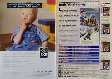 All Ireland Senior Hurling Championship - Final, .14.09.1997, 09.14.1997, 14th September 1997, .14091997AISHCF,.Senior Clare v Tipperary .Tipperary 2-16, Wexford 0-15,.Minor Clare v Galway, .TSB Bank,