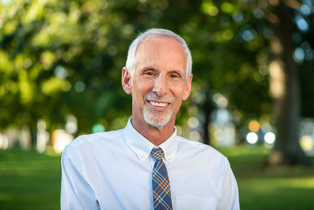 © Photo by Mara Lavitt<br /> September 4, 2020<br /> <br /> CT State Senator Norman Needleman on the Colchester Green.