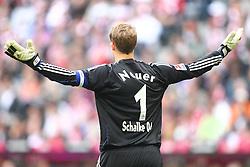 30.04.2011, Allianz Arena, Muenchen, GER, 1.FBL, FC Bayern Muenchen vs FC Schalke 04 , im Bild Manuel Neuer (Schalke #1)  , EXPA Pictures © 2011, PhotoCredit: EXPA/ nph/  Straubmeier       ****** out of GER / SWE / CRO  / BEL ******