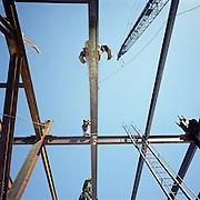 Steel workers, New York City.