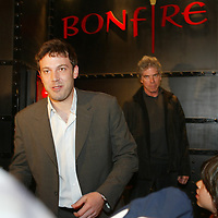 Ben Affleck and Ken Sunshine in Boston,MA.<br /> Photo by Mark Garfinkel