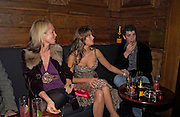 Amanda Elliasch, Saskia Boxford and Theo Osborne, Tatler magazine Little Black Book party, Tramp. Jermyn St. 10 November 2004. ONE TIME USE ONLY - DO NOT ARCHIVE  © Copyright Photograph by Dafydd Jones 66 Stockwell Park Rd. London SW9 0DA Tel 020 7733 0108 www.dafjones.com