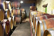 Domaine Jean Louis Denois. Limoux. Languedoc. Barrel cellar. France. Europe.