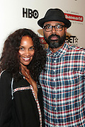 September 20, 2012- New York, New York:  (L-R) Televison Writer/Producer/Director Mara Brock Akil and Television Producer/Director Salim Akil attend the 2012 Urbanworld Film Festival Opening night premiere screening of  ' Being Mary Jane ' presented by BET Networks held at AMC 34th Street on September 20, 2012 in New York City. The Urbanworld® Film Festival is the largest internationally competitive festival of its kind. The five-day festival includes narrative features, documentaries, and short films, as well as panel discussions, live staged screenplay readings, and the Urbanworld® Digital track focused on digital and social media. (Terrence Jennings)