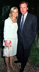 The MARQUESS & MARCHIONESS OF MILFORD HAVEN,<br />  at a dinner in London on 22nd May 2000.OEK 120