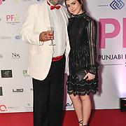 Arrivers at the BritAsiaTV Presents Kuflink Punjabi Film Awards 2019 at Grosvenor House, Park Lane, London,United Kingdom. 30 March 2019